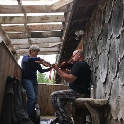 fiddle lesson - Gordon Lafleur